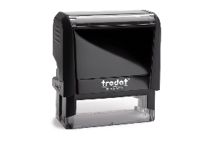 Trodat Hand Stamp Rubber Stamp